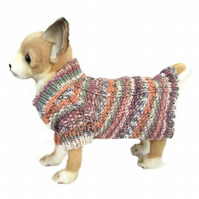 Extra small Cable Dog sweater