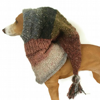 Silk mix Greyhound snood hat