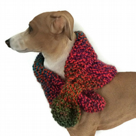 Miniature keyhole scarf for your dog