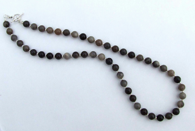 Sussex Flint Bead Necklace