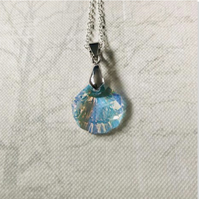 Gem Crystal Shell Necklace