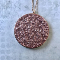 Polaris Rose Gold Pendant Necklace