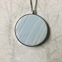 Polaris Steel Pendant Necklace