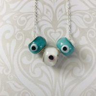 Glass Murano Eye Necklace