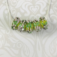 Glass Murano Lampwork Necklace