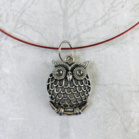 Night owl necklace