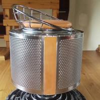 Revolving  drum stool
