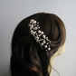 Handmade Twisted Wire Pearl Bridal Hair Comb