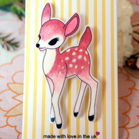 Woodland Fawn Brooch