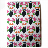 Blooming Owl Notebook