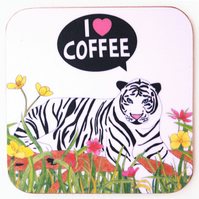 I ♥ Coffee Coaster
