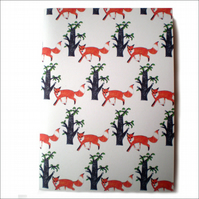 Curious Fox Notebook - ON SALE! -