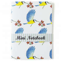 Flying Blue Tit Notebook