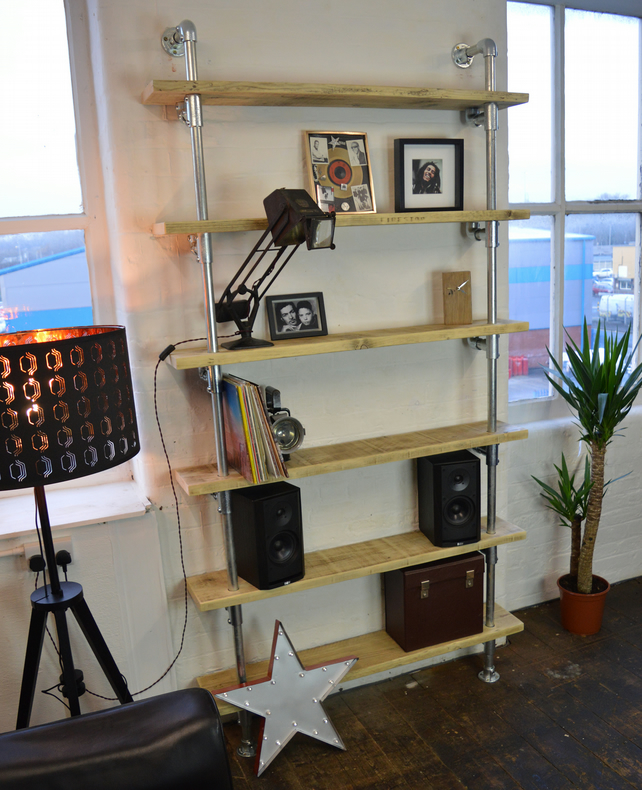 Urban Industrial Shelving Unit