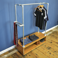 Urban Industrial Clothes Rack
