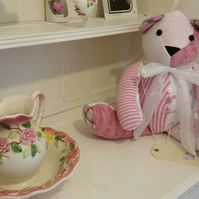 Keepsake memory bear teddy baby clothing loved one nursery decor gift special
