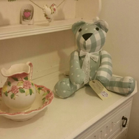 Handmade decorative bear shabby chic nursery home decor gift birthday wedding