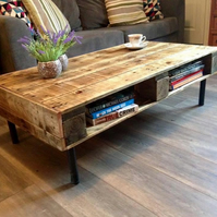 Pallet coffee table, coffee table.
