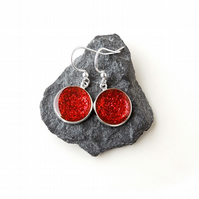 Red Earrings (678)