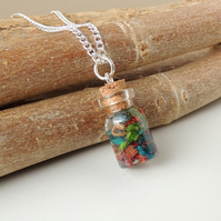 Skateboard Shavings Necklace - SALE (285)
