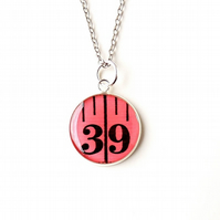 Number 39 Pink Necklace (2127)