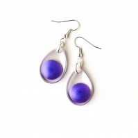Purple Earrings - SALE (2228)