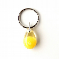 Yellow Skittles Keyring -1392 (Sale)