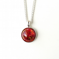Red Rose Dust Necklace (243)