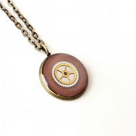 Steampunk Necklace - SALE (1850)