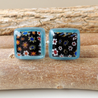 Blue & Black Cufflinks (116)