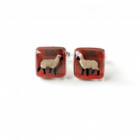 Sheep Cufflinks - SALE (2209)