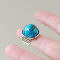 Blue Shells Ring (140)