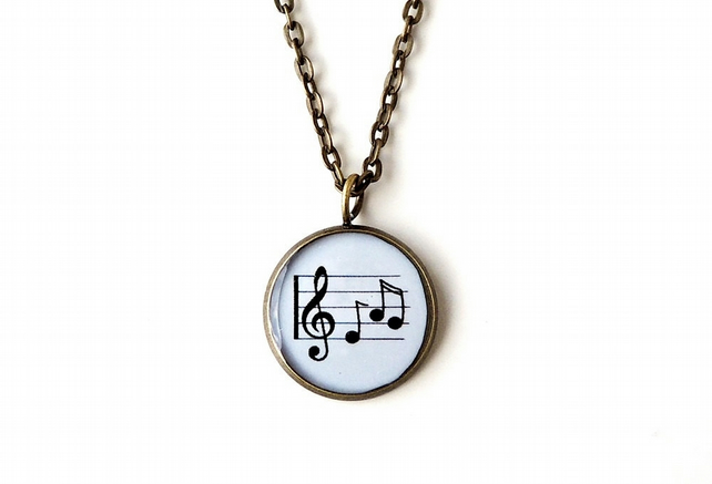 Music Necklace (554)