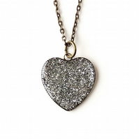 Silver Heart Necklace (270)