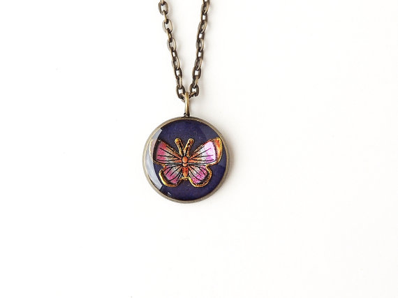 Butterfly Necklace - SALE (026)