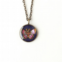 SALE: Butterfly Necklace (026)