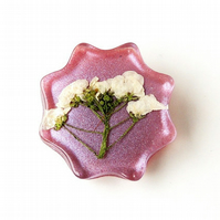 Pink Flower Brooch - SALE(1107)