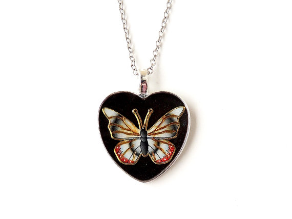 Butterfly Necklace - SALE (248)