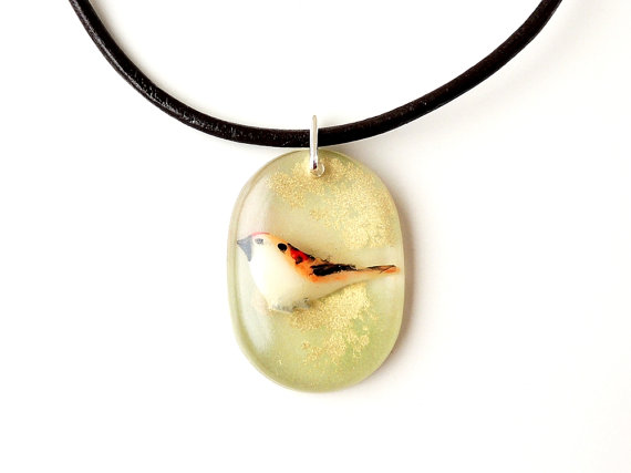 SALE: Retro Bird Necklace (2001)