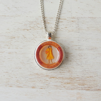 Little Lady Resin Necklace (033)