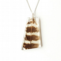 Feather Necklace - SALE (2169)