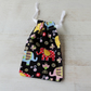 Drawstring Gift Bag with Elephants for Jewellery or Small Items, (GB05)