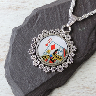 Queen of Diamonds Necklace - SECONDS (724)