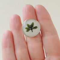 Green Leaf Ring (1381)