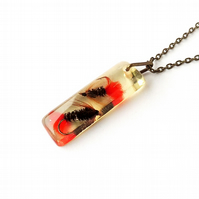 Fly Fishing Necklace - SALE (1525)