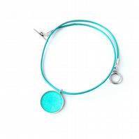 Turquoise Blue Necklace - SALE (1999)