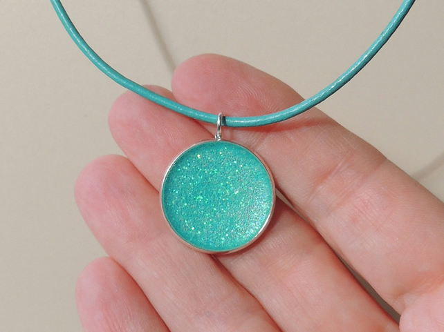 Turquoise Blue Necklace - 1999