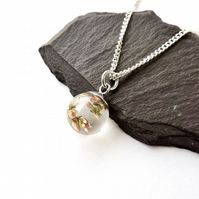 Heather Globe Necklace - 660aa