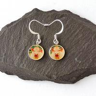 Cow Earrings - Free UK P&P - SALE (1398)