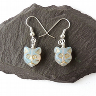 Cat Earrings - 015